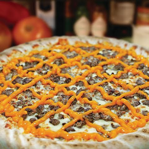 Pizza Filé com Cheddar da BlackPizza (Foto: divulgação)