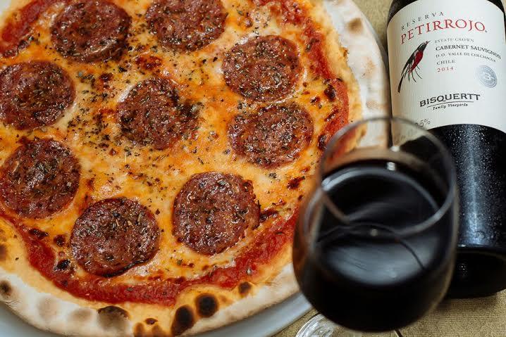 Pizza Diávola da Ma Che! Pizzeria (Foto: Eudesmar Duarte)