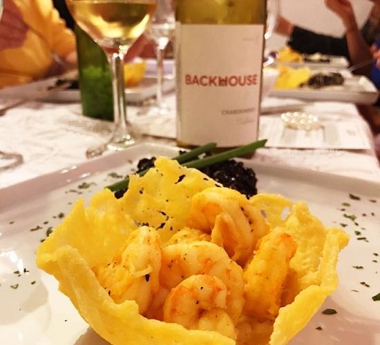 Jantar harmonizado na loja Vinho & Ponto Fortaleza