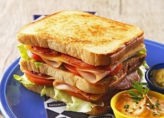 Prepare um sanduíche