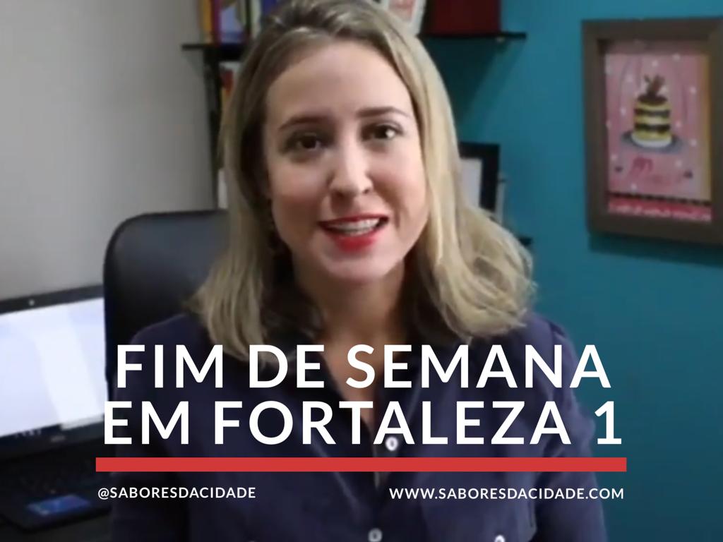Fim de semana em Fortaleza 1
