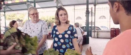 Mercado dos Pinhões: Chef Marie Anne Bauer e a Feira de Orgânicos