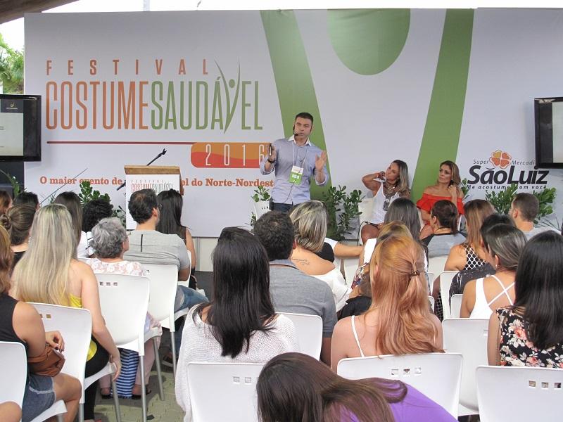 Festival Costume Saudável será realizado entre os dias 25 e 27 de agosto