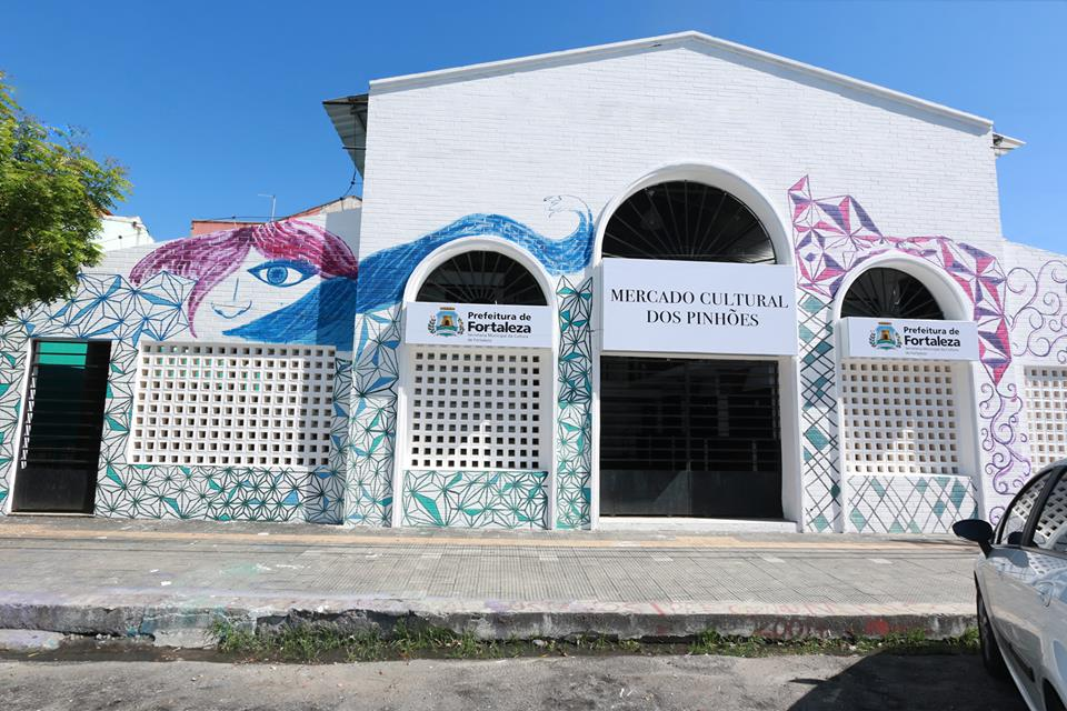 Prefeitura de Fortaleza inaugura Mercado Cultural dos Pinhões